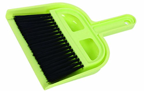 Small Broom and Dustpan Mini Hand Broom for Home Kitchen Car