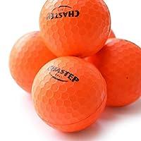 Chastep Practice Foam Golf Balls 1.68 Inch Indoor/Outdoor Limited Flight High Density 12 Count Orange