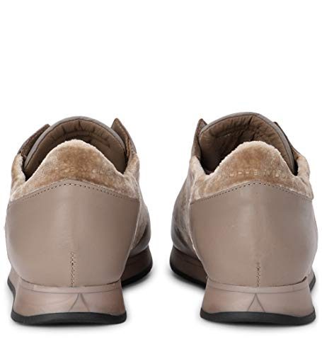 Velluto Sabbia Pelle Philippe Tropez Model E Beige Sneaker In T0zTSYUnaq