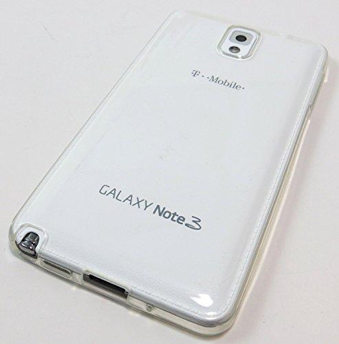 Transparent SUPER CLEAR Gel TPU Rubber Skin Case Cover for Samsung Galaxy Note 3 III N900 N900A N900P N900T N900R4 N900V ()