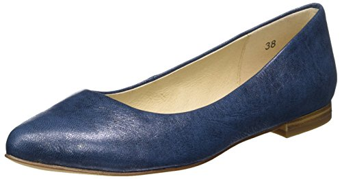 Caprice22107 - Bailarinas Mujer Azul (Ocean Metallic)