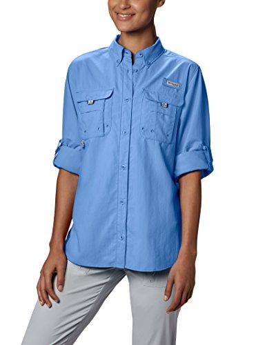 Bahama LS Columbia Blue FL7314 de nbsp;femmes White Cap la bleu femme blanc Multicolore gxqaRwq
