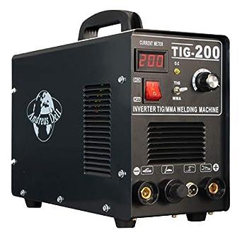 Máquina Soldadora Inverter Necesario / Wig + Mma 200 Encendido + Máscara para Soldar + Accesorio: Amazon.es: Industria, empresas y ciencia