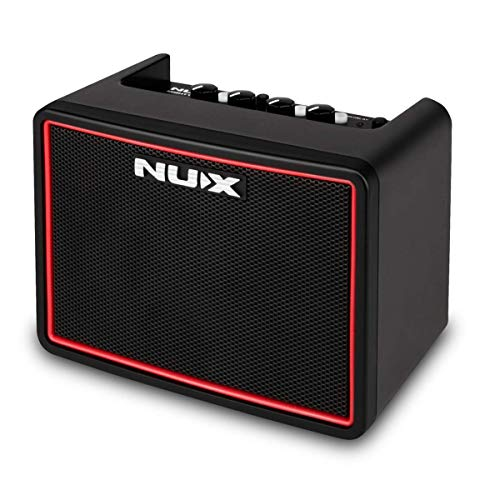NUX Mighty Lite BT Mini Portable Modeling Guitar Amplifier with Bluetooth (Portable Guitar Amp)