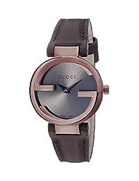 Gucci YA133504 Womens Interlocking Wrist Watches