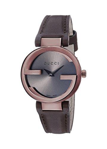 b7868736da3 Gucci YA133504 Womens Interlocking Wrist Watches  Amazon.ca  Watches