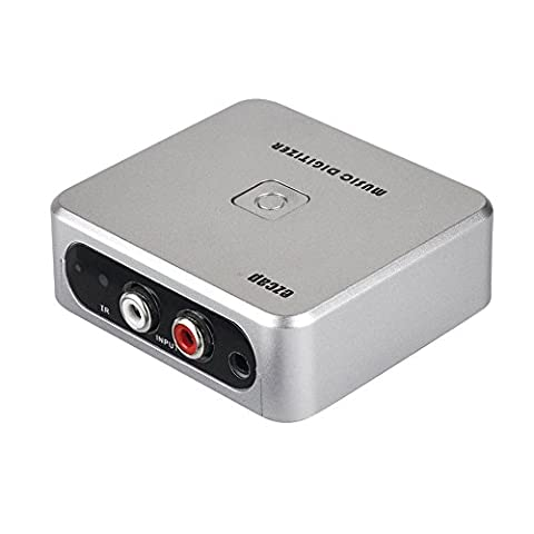 YQZH-US-39 Ezcap Standalone 3.5mm or L/R Analogue to Digital Audio Recorder Capture Box for TV / Radio / (Music Digitizer, Cassette to Mp3 (Microcassette Storage)