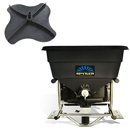 Spyker S80-12010 Electric 12V Spreader with Replacement 1000607 Impeller (Bundle, 2 Items)