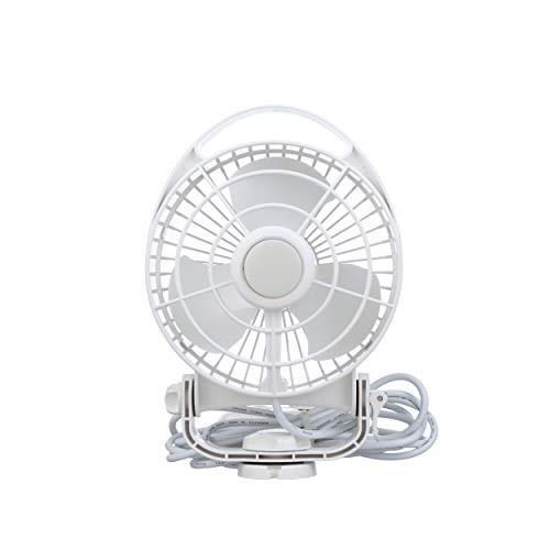 Caframo Maestro 12V Marine Direct Wire Fan, White, (Caframo Compact)