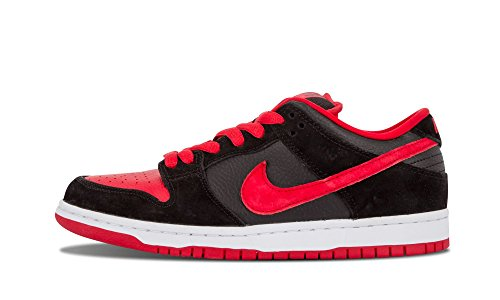 Nike Dunk Low Pro SB J-Pack Black - University Red - Black Mens 12 ()