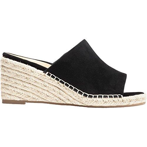 Vionic Tulum Kadyn - Womens Wedge Slip-On Sandal Black - 9 Wide by Vionic