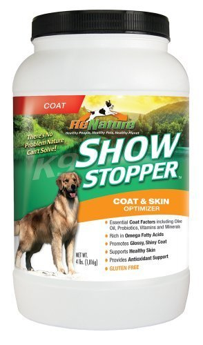 K9-Power Show Stopper Dog Coat and Skin Formula, 4-Pound by K9-Power (Discontinued by Manufacturer)
