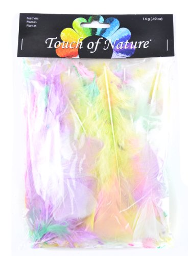Touch of Nature 38037 Turkey Flats, 14 grams, Pastel Mix (Feather Pastels)