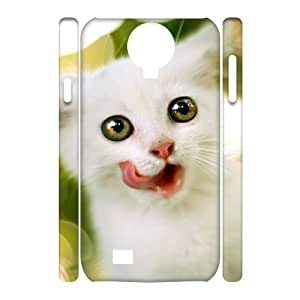 case Of Lovely Cat 3D Bumper Plastic Cell phone Case For Samsung Galaxy S4 i9500