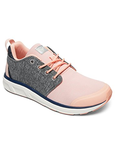 Set Baskets Grey pink Roxy Session Femme Arjs700124 Gris Pour A4nHwq1R
