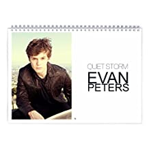 Evan Peters - Quiet Storm 2018 Wall Calendar