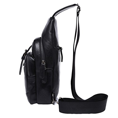 Fashion Black Messenger Outdoor Bag Leisure Backpack Sports Men Chest Wild OHaHqpA