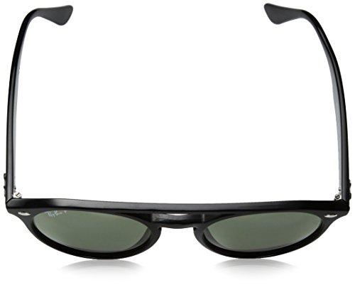 51 Unisex Sunglasses Injected ban Mm Black Round Polarized Ray Oz6q0