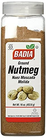Badia - Ground Nutmeg - 16 oz. - Nutmeg Spice