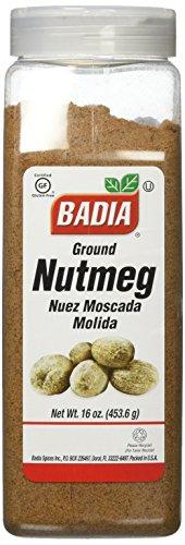 Badia - Ground Nutmeg - 16 oz. (Nutmeg Spice)