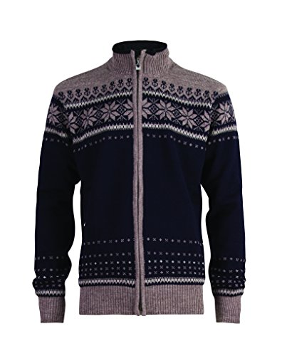 Dale of Norway Ulriken Jacket WP - Chaqueta para Hombre azul - Navy/Mountainstone/Sand