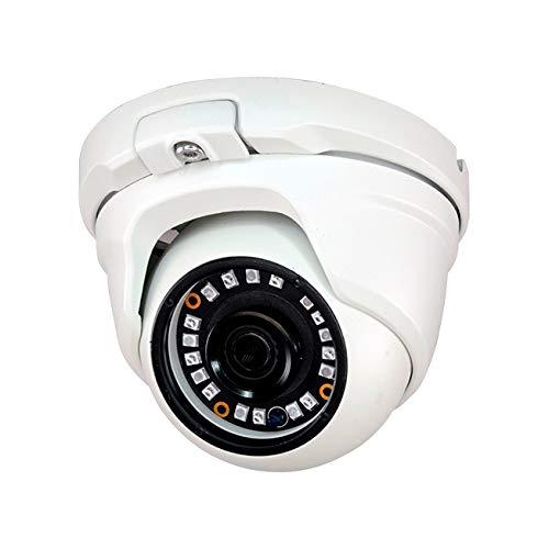 """Domo fijo 4 en 1 serie LITE con iluminación IR de 20 m para exterior. CMOS 1/3"""" de 1,3MP a 720P. Salida 4 en 1 (HDCVI / HDTVI / AHD / 960H). Óptica fija de 2,8 mm (90°). Filtro ICR. AWB, AGC, AES. IP66. 3AXIS. 12V CC CCTVD"""