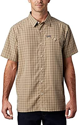 Columbia Declination Trail II Camisa de Manga Corta, Hombre, Beige (Fossil), XS: Amazon.es: Deportes y aire libre