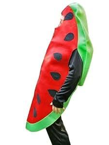 SY10 Increíble disfraz de melón, Tallas M-L, como melón para fiestas o carnaval.