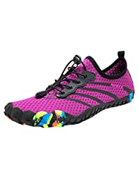 Theshy Leisure Couples Beach Swim Water Shoes Quick-Dry Drawstring Creek Diving Shoes Surf Aqua Sports Pool Beach Walking Yoga