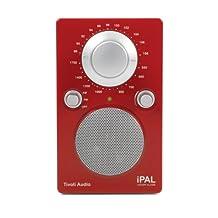 Tivoli iPAL Portable Audio Laboratory AM/FM Radio - Red/Silver