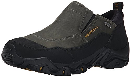 Merrell Mens Polarand Rove Moc Waterproof Winter Slip On, Castle rock, 40 D(M) EU/6.5 D(M) UK