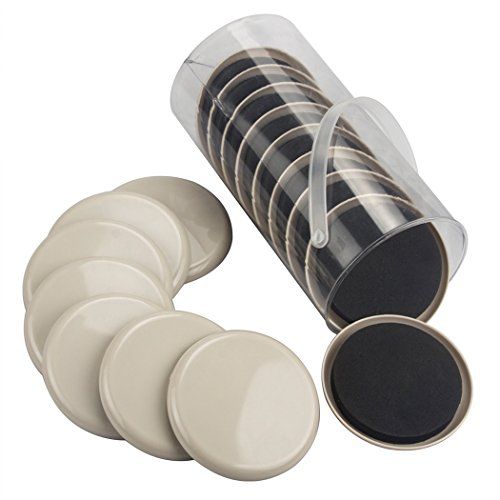 16 Pcs Furniture Sliders For Carpet 3 5 Inch Diameter Furniture