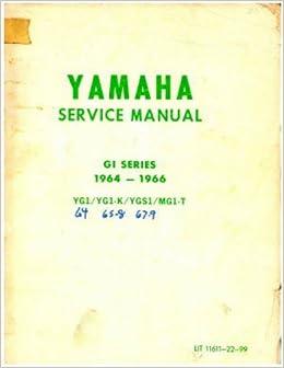 1965 Yamaha YGS1 Parts Manual