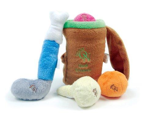 Golf Champ Plush 5-Piece Dog Toy Set