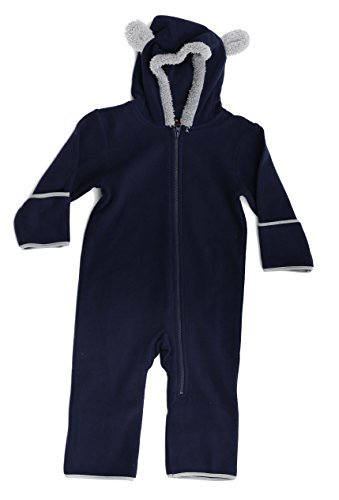 At The Buzzer 87002-NVYGRY-0-3M Baby Boys Fleece Pram (Bunting Sherpa)