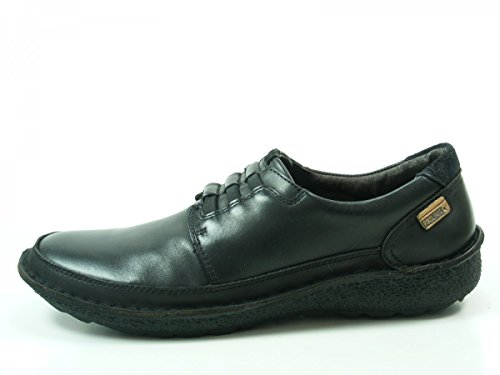 de Chile Schwarz para cuero 01G Pikolinos hombre 3070 Mocasines Zapatos qvwEp4zxX