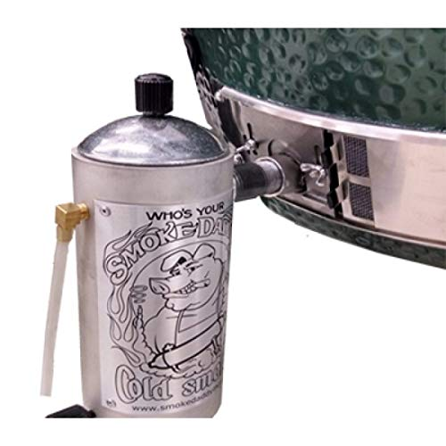 .i.g. Cold Smoke Generator w/ Big Green Egg Adapter (Or Similar Cermaic Grills) ()