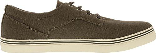Kenneth Cole Reaction Hombre Globe Xplorer Textil Tobillo-alta Moda Sneaker Gris