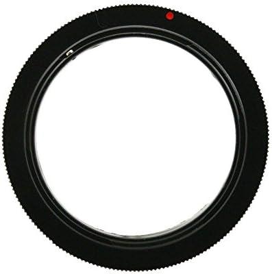 REFURBISHHOUSE マクロ撮影 リバースアダプター Canon キヤノン EOS EFマウント用 52mm径のレンズ対応