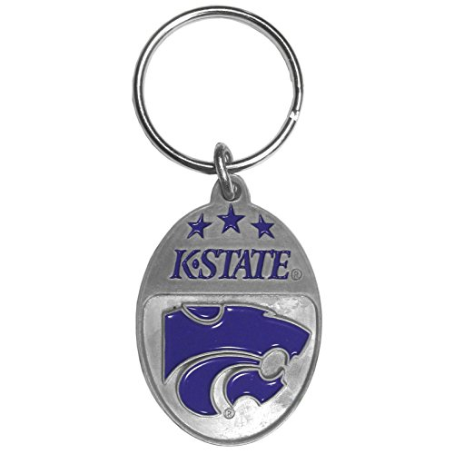 Siskiyou NCAA Kansas State Wildcats Carved Metal Key Chain