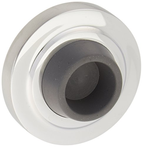 Deltana WB238U26 23/8-Inch Diameter Solid Brass Concave Flush Bumper