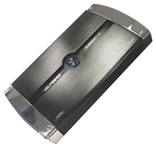 VOLFENHAG ZX5163 2-Channel 1600W Car Amp by Volfenhag