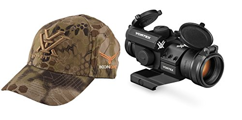 Vortex Optics StrikeFire 2 Red/Green Dot sight 4 MOA / Lower 1/3 Co-Witness Cantilever Mount - with IkonOps Hat