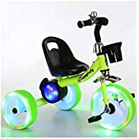 Cool Baby Tricycle With LED Light & Speaker Blue