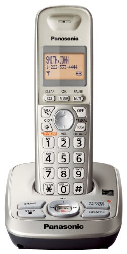 (Panasonic KXTG4221N DECT 6.0 1-Handset Phone System with Answering Capability)