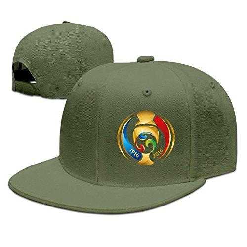 Cricket World Cup Adjustable Cap (MaNeg 2016 Copa America Centenario Unisex Fashion Cool Adjustable Snapback Baseball Cap Hat One Size ForestGreen)