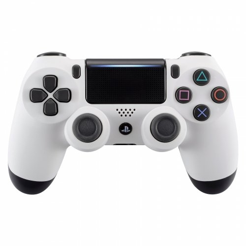 White Playstation 4 PS4 Dual Shock 4 Wireless Custom Controller