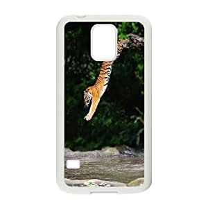 High quality tiger Pattern Hard Snap Cell Phone Case for For Samsung Galaxy Case S5 color18