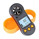 Pocket Anemometer Digital Wind Speed Meter Gauge