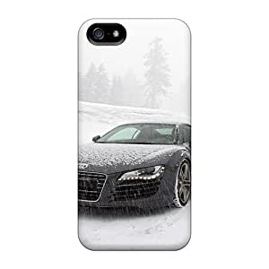 Bumper Hard Phone Cases For Iphone 5/5s (qne3280NPDF) Custom Beautiful Audi R8 Pictures